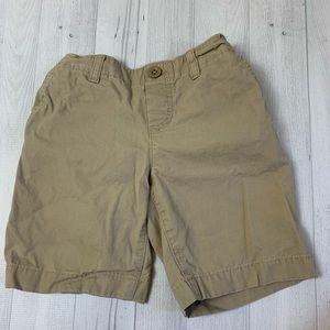 Lands' End | Boy's Flat Front Khaki Shorts